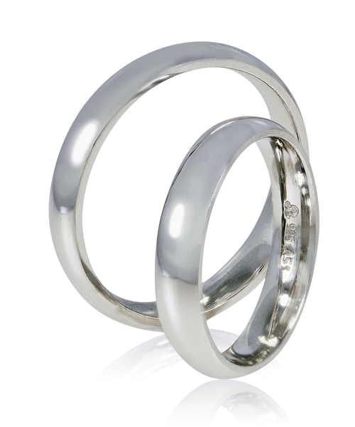 Ασημένιες Βέρες Γάμου