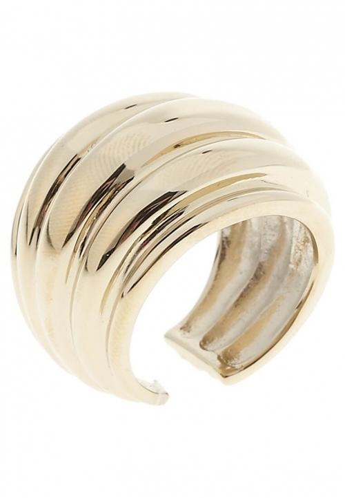 Ava Δαχτυλίδι σε Επιχρυσωμένο Ανοξείδωτο Ατσάλι