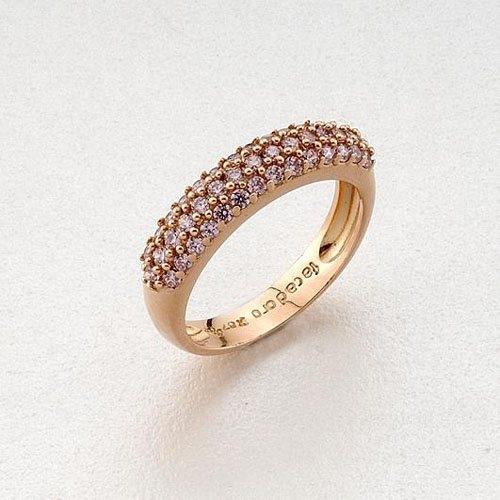 Δαχτυλίδι σε Ροζ Χρυσό με Αμέθυστο