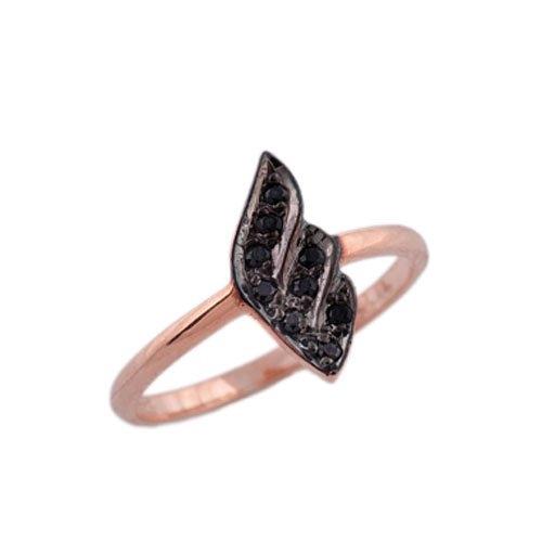 Δαχτυλίδι σε Ροζ Χρυσό με Ζιργκόν