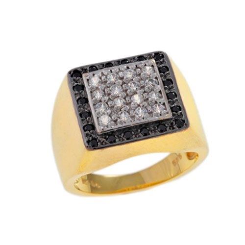 Δαχτυλίδι Σεβαλιέ σε Χρυσό με Ζιργκόν