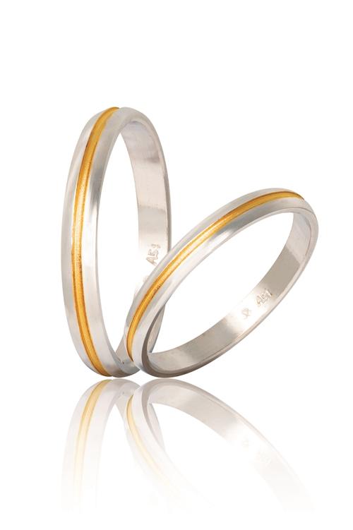 Δίχρωμες Βέρες Γάμου