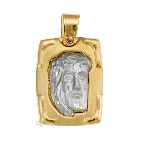 Φυλακτό σε Δίχρωμο Χρυσό