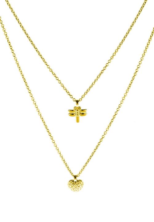 Indira SG Crystal Swarovski Necklace