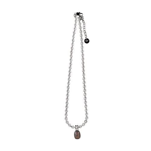 Laikipia SS Grey Necklace