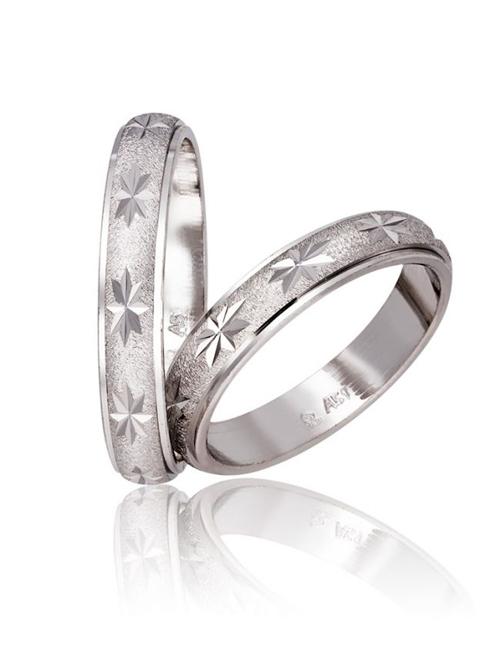 Λευκόχρυσες Βέρες Γάμου