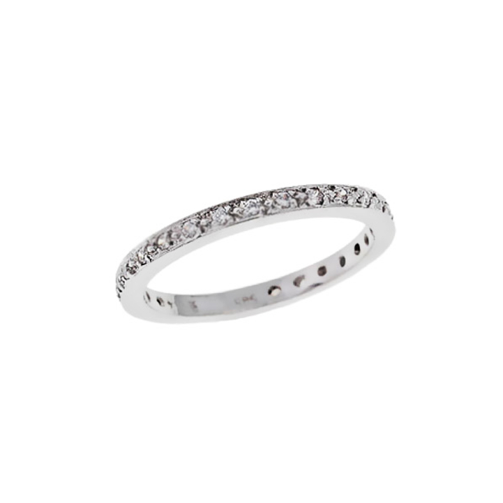 Λευκόχρυσο Δαχτυλίδι με Ζιργκόν