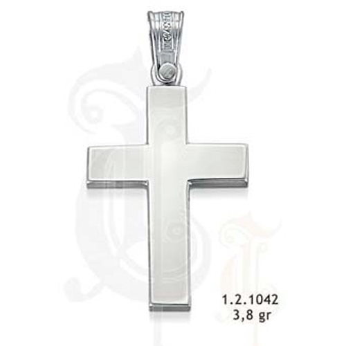 Λευκόχρυσος Βαπτιστικός Σταυρός