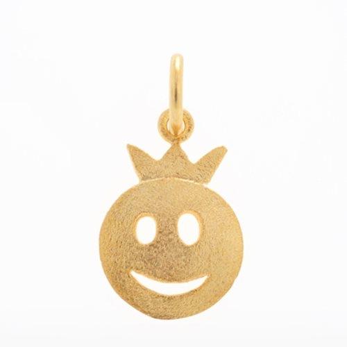 Μενταγιόν Φατσούλα Πρίγκιπας σε Χρυσό
