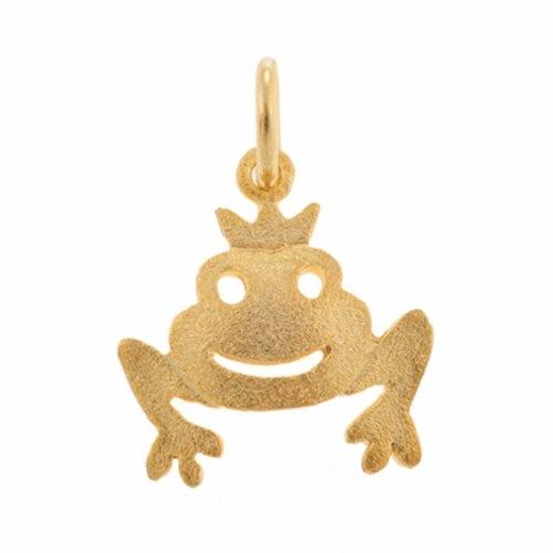 Μενταγιόν Πρίγκιπας Βάτραχος σε Χρυσό