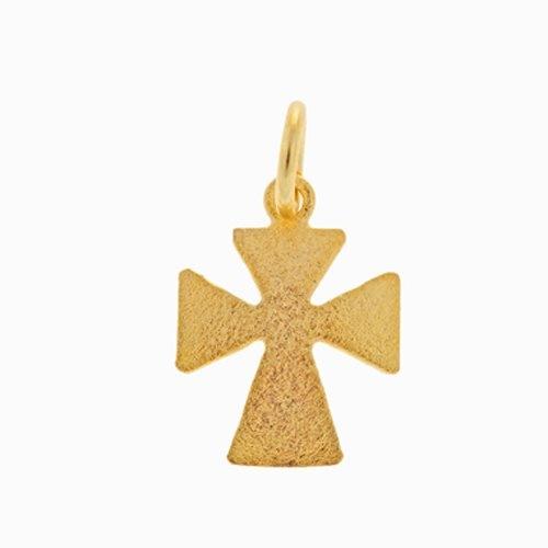 Μενταγιόν Σταυρός σε Χρυσό