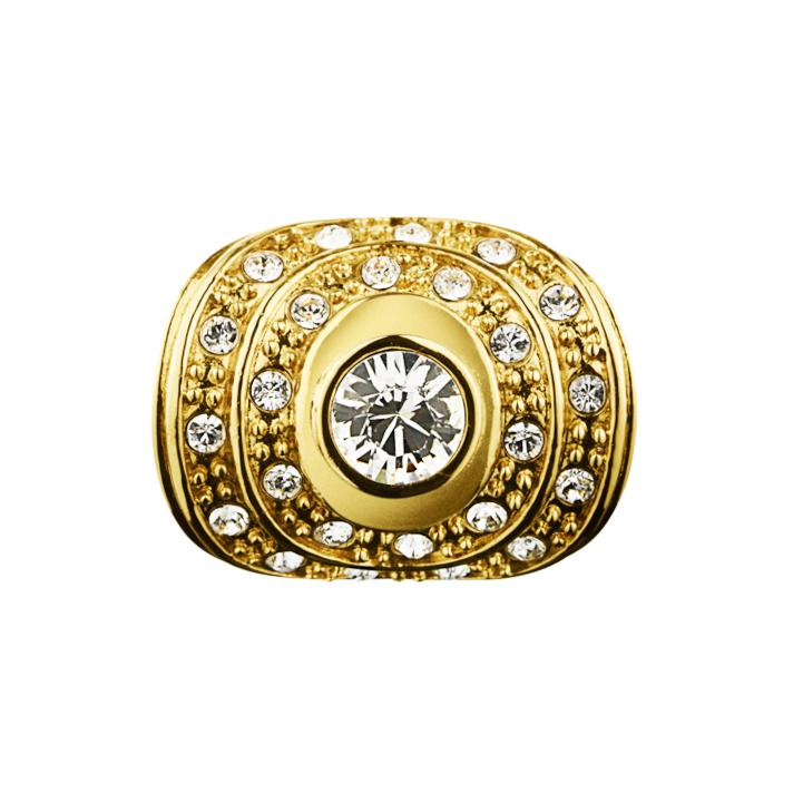 Mina Δαχτυλίδι σε Επιχρυσωμένο Ανοξείδωτο Ατσάλι με Swarovski