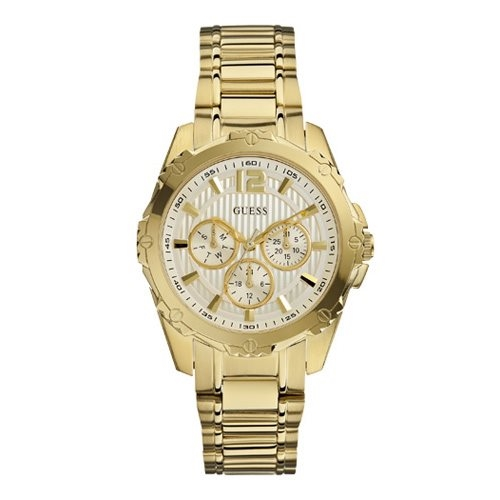 Multi Gold Dial Gold Stainless Steel Bracelet
