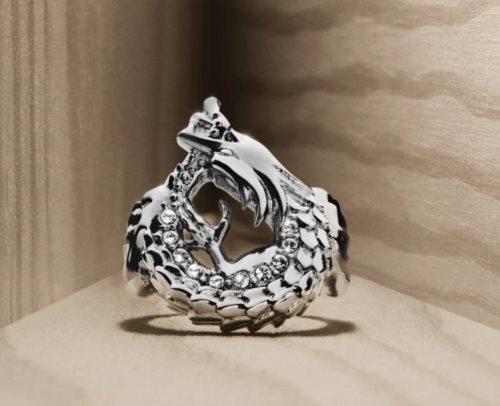 Rinji Δαχτυλίδι σε Ανοξείδωτο Ατσάλι με Swarovski
