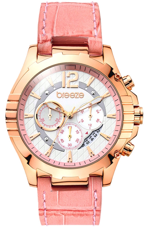 Sunset Boulevard Pink Leather Strap