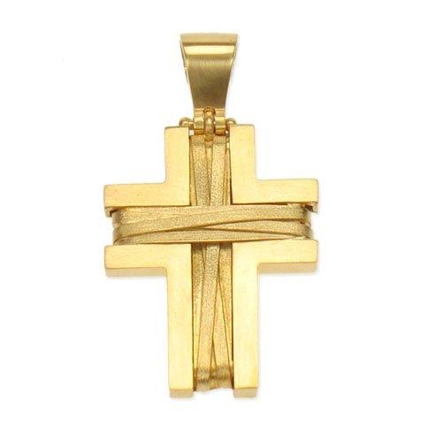 Βαπτιστικός Σταυρός σε Χρυσό