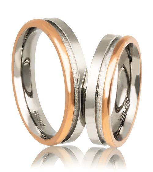 Βέρες Γάμου σε Ασήμι και Ροζ Χρυσό