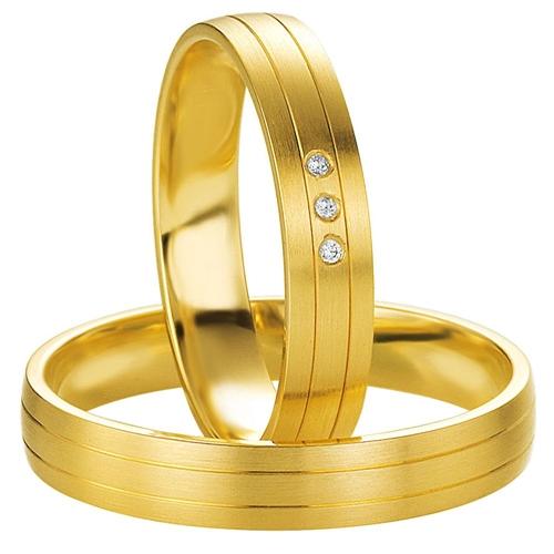 Χρυσές Βέρες Γάμου με Διαμάντια