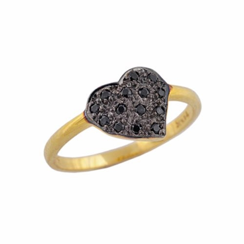Χρυσό Δαχτυλίδι Καρδιά με Ζιργκόν