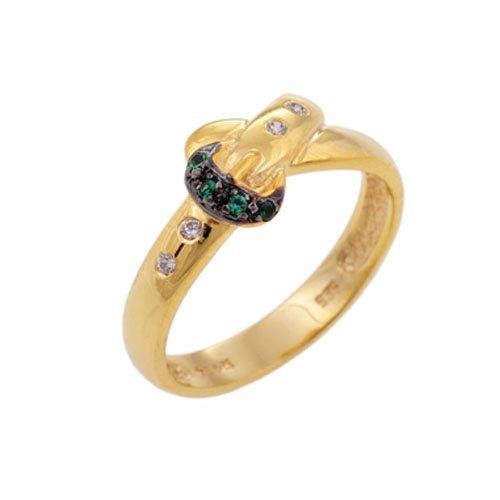 Χρυσό Δαχτυλίδι με Ζιργκόν