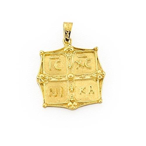Χρυσό Μενταγιόν Φυλαχτό
