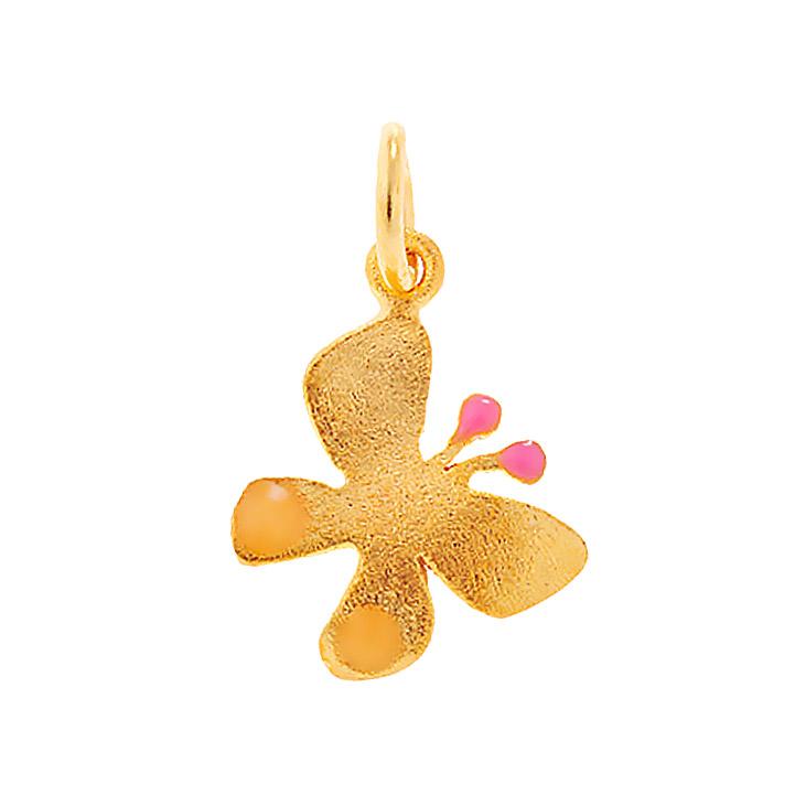 Χρυσό Μενταγιόν Πεταλούδα