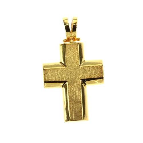 Χρυσός Βαπτιστικός Σταυρός